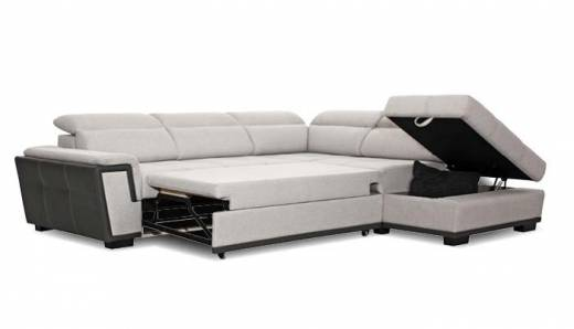 Edge Loungebank met bedfunctie