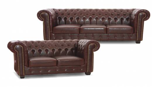 Edinburgh Chesterfield Hoekbank