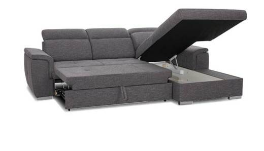 Atlas Loungebank met bedfunctie